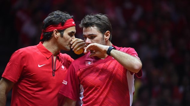 Federer, Wawrinka named in Swiss squad for play-offs