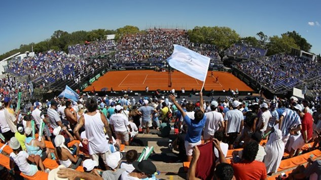Argentina-Serbia quarterfinal to be held on indoor clay