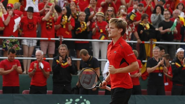 Goffin excited to lead Belgium into the unknown