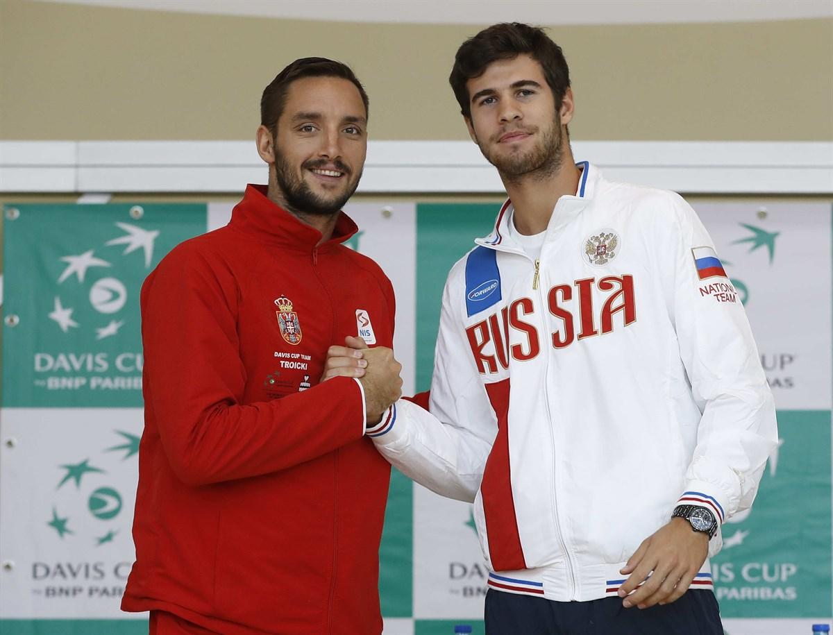 Новак Джокович сыграет против сборной РФ вКубке Дэвиса